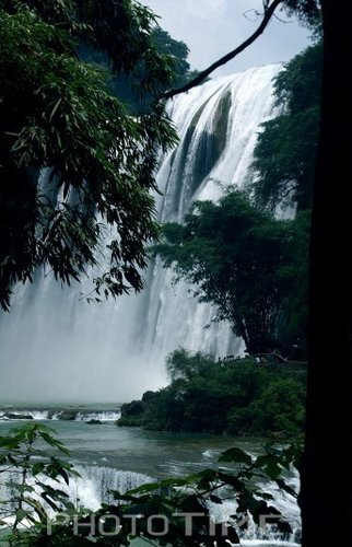 组图:黄果树瀑布奇景