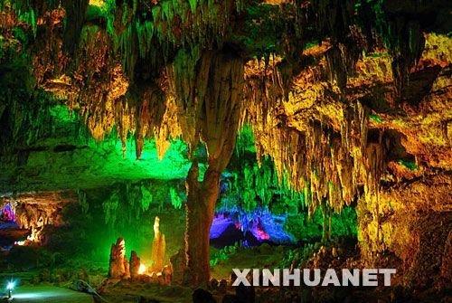 组图:美轮美奂的贵州绥阳双河溶洞
