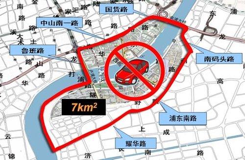 上海将设世博交通管控区 城区新增62条单行道