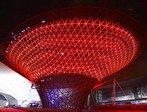 流光溢彩世博园 各场馆倒计时100天试灯