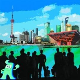 于丹:倒计时100天看上海 世博是生命的邂逅