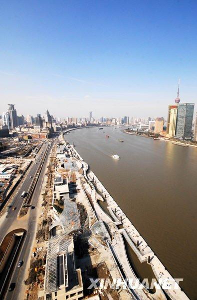 世博会将启用7座水门 游客可从水路进入园区