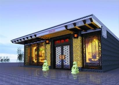世博美食广场囊括八大菜系 粤菜馆已开工装修