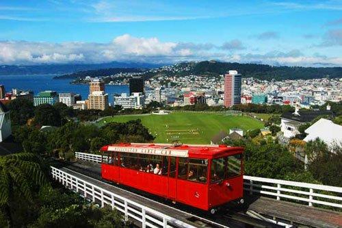 """新西兰浪漫小城:风都""""惠灵顿"""""""