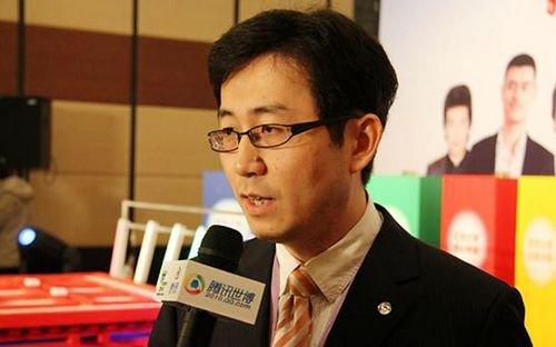 图文:腾讯上海分公司总经理张立军接受采访