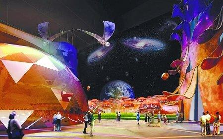 揭秘主题馆之城市未来馆 体验空中生活的快感