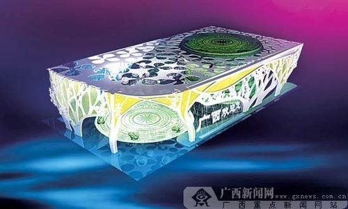 揭开上海世博会广西展馆面纱 外观似千年古榕