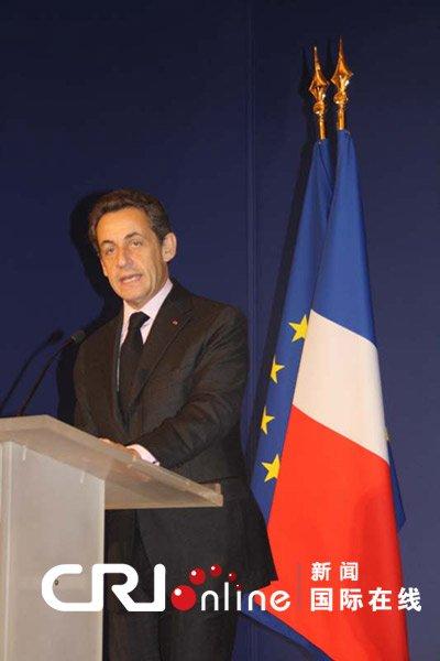 萨科齐将出席世博开幕式 称将深化两国关系