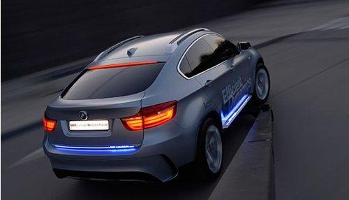 全新BMW高效混合动力X6——性能至上 步步高效