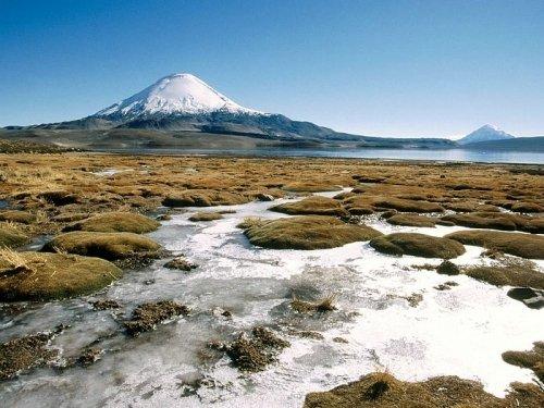 安第斯山脉的一段传奇 帕里纳科塔火山胜景