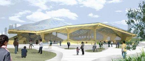 图文:上海世博会挪威国家馆主题和方案