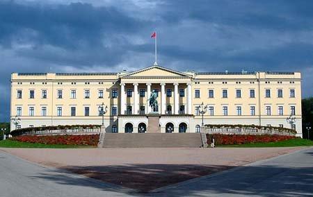 图文:精致高雅 挪威奥斯陆王宫