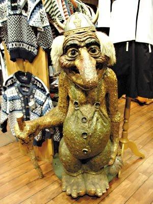 幸运和幸福的化身 挪威标志山妖