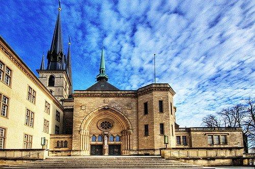 """""""千堡之国""""卢森堡:欧洲最美丽的露台"""