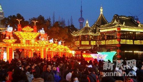 上海豫园元宵灯会今晚起售票