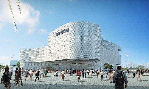 展现未来信息城市生活前景 信息通信馆奠基
