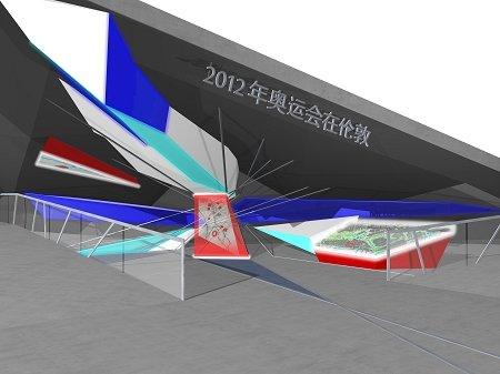 伦敦奥运会世博展示方案公布 邀体育明星助阵