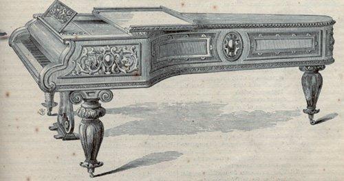 1853年纽约水晶宫世博会 钢琴首次展出