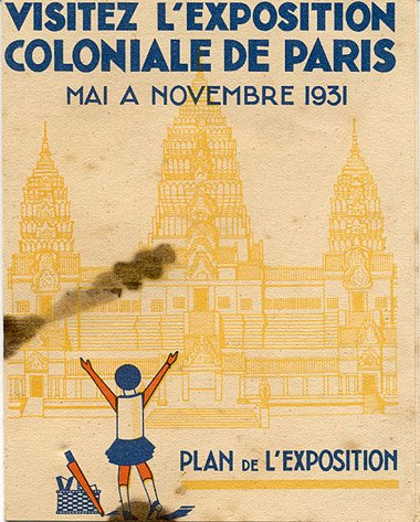 1931年法国巴黎世博会 复制缅甸吴哥窟