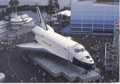 """1984年新奥尔良博览会 """"企业号""""备受关注"""