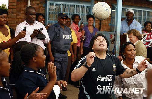 马拉多纳有望率阿根廷国家队助阵上海世博会