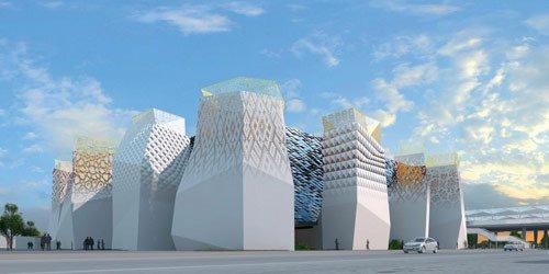 俄罗斯馆完美展现未来城市中的理想居住点