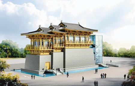 上海世博会陕西馆本月31日竣工