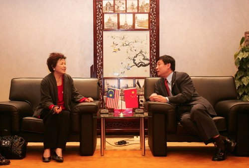 马来西亚旅游部部长访问世博局交流参展事宜