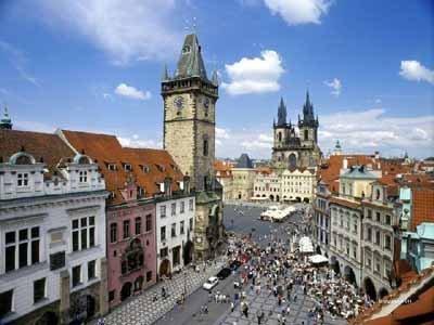 美丽山城  悠远布拉格广场