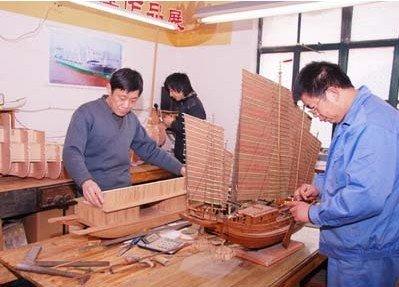能工巧匠造古船 精彩演绎船文化