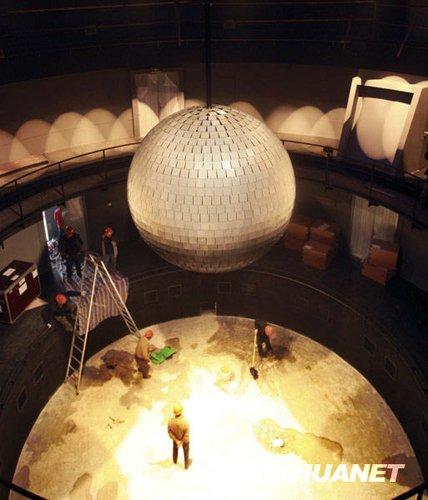德国馆馆长:金属球与讲解员是德馆镇馆之宝