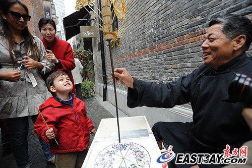 上海石库门文化周启动 世博体验游享弄堂风情