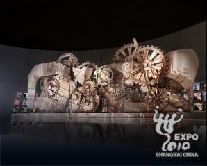 """塞尔维亚馆:用""""时间机器""""穿越城市生活"""