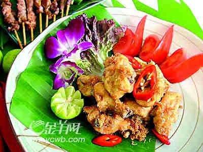 世博园美食探秘B片区:东南亚食物酸辣独特