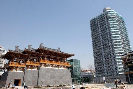 唐大明宫在上海世博园重现