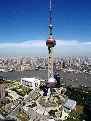 东方明珠 卢浦大桥 鸟瞰世博 最佳观景点图片