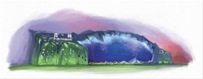 览长白山天池美景 在吉林馆看东北二人转