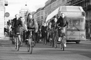 环保丹麦:快乐的自行车王国