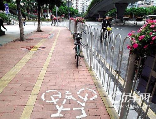 广州大道全程设自行车道 将迎接亚运会游客