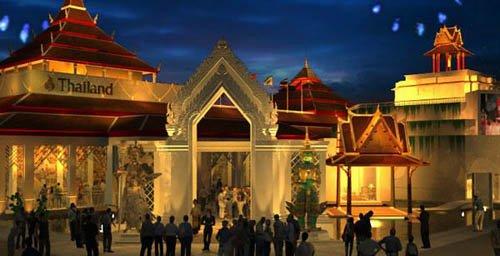 泰国馆演绎泰式城乡生活 积极迎接上海世博会