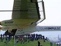 高清:全球首架太阳能飞机在瑞士试飞