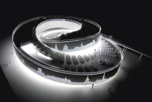 丹麦馆创意自行车道设计 从屋顶穿行到街道