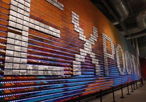 世博会上海馆竣工 数字音画空间面积世界第一
