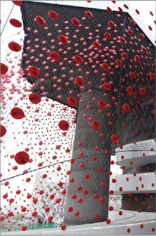瑞士馆外墙太阳能板世博会后出售 约250元/枚