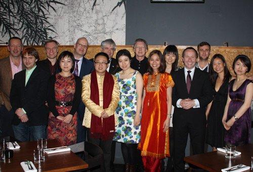 伦敦华人与英国各界联欢共庆上海世博会