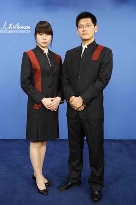 中国馆礼宾服1