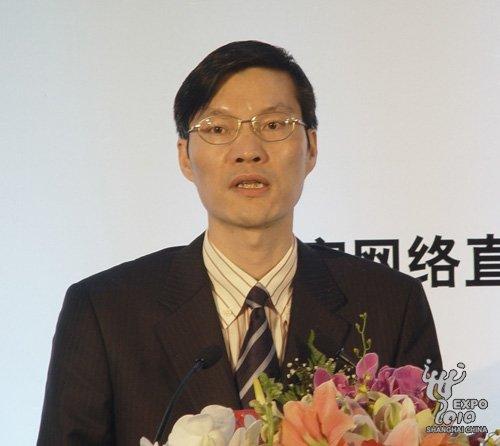 中共上海市委宣传部副部长、市文明办主任马春雷致辞
