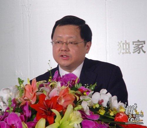 上海世博局副局长朱咏雷致辞