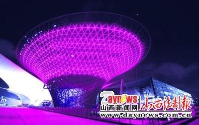 上海展名城新貌 世博会场周边景点逐个数(图)