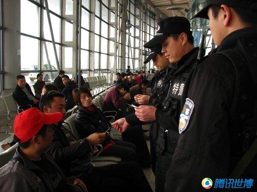 全国铁路世博安保启动 上海3千铁警进入实战